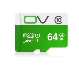OV Micro Carte Mémoire SDXC 64G