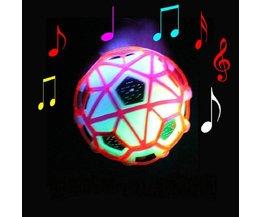 Rebondir Avec La Lumière Et La Musique