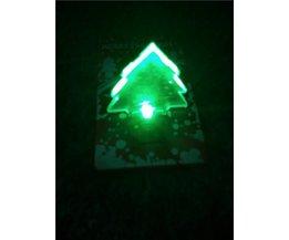 Carte De Noël 3D Avec La Lumière LED