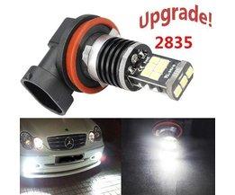 H16 LED Fog Lamp Canbus 2835 SMD 15 Pour Les Voitures Japonaises