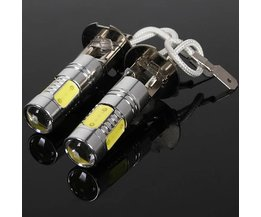 H3 Ampoule LED Cob Cree 360 Pour La Voiture