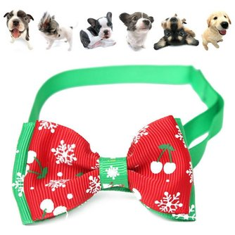 Réglable Bow Christmas For Pet