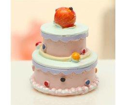 Faux Gâteau Décoratif 1,7 Cm X 2,5 CM