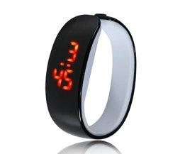 Bracelet En Silicone LED Watch Hommes Femmes Enfant