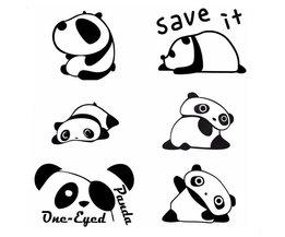 Autocollants Décoratifs Panda Pour Les Interrupteurs De Lumière