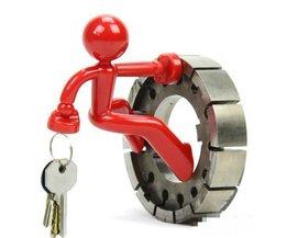 Magnetic Key Holder Dans La Forme D'Un Homme