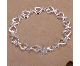 Plaqué Argent Bracelet Pour Les Femmes
