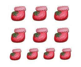 Charms Noël Avec Des Chaussettes De Noël (10 Pièces)