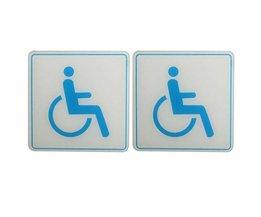 Disabled Sticker 100X100Mm