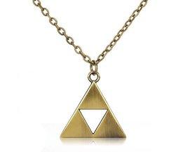 Collier Avec Triangle