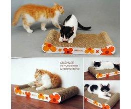 Cat Scratching Mat Pour