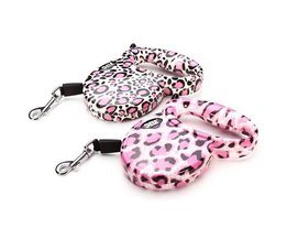 Leash Rétractable 3M Leopard