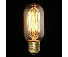 40W LED Kool Fil Lampe Avec E27 Fitting
