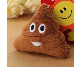 Brown Porte-Clés Avec Smiley