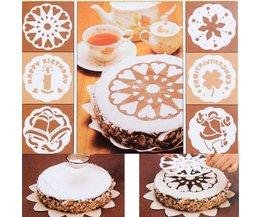 Pochoirs Cake 6 Pièces