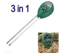 3 En 1 Soil Tester
