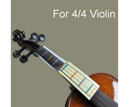Violin Learning Playing Card Outil