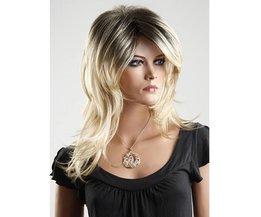NAWOMI Perruque Aux Longs Cheveux Blonds