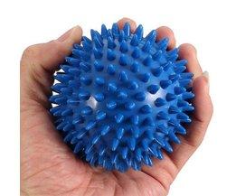 Flexible Massage Blue Ball Avec Spiky