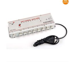 Signal TV Amplificateur 8 Ports