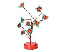 Lampe LED Décorative Roses