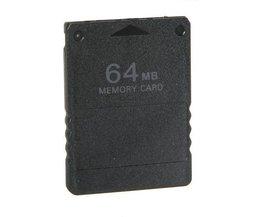 PS2 Carte Mémoire 64Mo