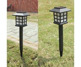LED Jardin Luminaire Étanche Solaire