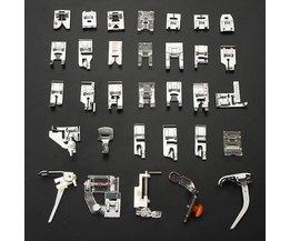 Presser Set Pied Pour Machines À Coudre
