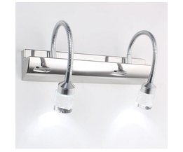 Applique Murale À LED 3W / 6W 85-265V Dans Kristal And Steel