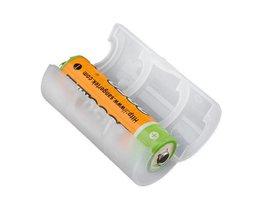 AA Pour C Adaptateur Batterie