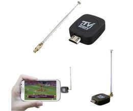 Micro Mini USB DVB-T Tuner TV Pour Téléphone Android / Tablet