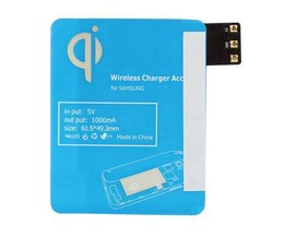 Qi Wireless Charging Receiver Pour Samsung