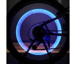 Lumières De Valve Pour Vélo