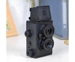 Double Lens Reflex Bricolage Camera