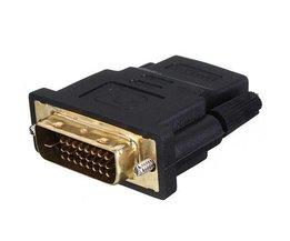 DVI Mâle Vers HDMI Femelle Converter