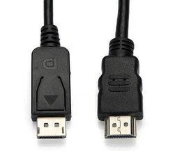 DisplayPort Vers HDMI Cable