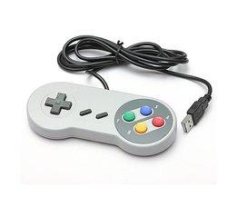 Retro SNES Controller Pour PC