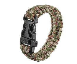 Survival Bracelet Avec Boucle