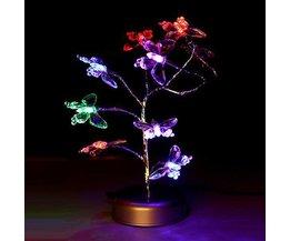 Ambiance LED Lampes Avec Des Papillons