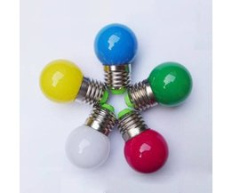 Colored Ampoules LED 0,5 Watts