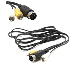 Audio Et Video Cable Pour Sega