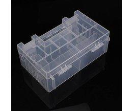 Transparent Boîte De Batterie Pour AAA AA Et C Batteries