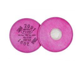 3M 2091 Filtres 3M Pour Masques À Gaz