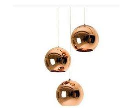 Lampe Plafond De Verre Avec Spherical Lampshades