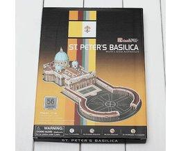 3D Puzzle St. Peter