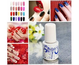 Soak Off Gel Polish En 24 Couleurs