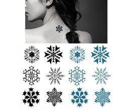 Imperméable Snowflake Slice Tatouages