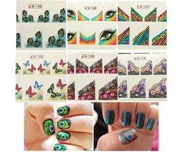 Nail Stickers Papillon