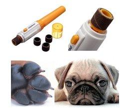 Dog Nail Files Appareil Électrique