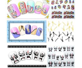 Art Nail Stickers Merry
